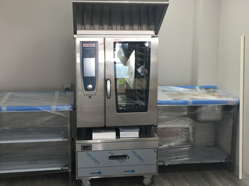 Rational self cooking center oven