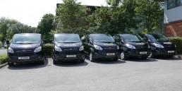Apeiron Catering fleet of company vans